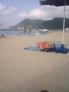 竹野と柴山(海水浴とカヌー)
