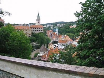 中世ヨーロッパの街を歩く inチェスキークルムロフ