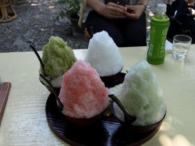 天然氷蔵元・阿左美(金崎本店)でかき氷を食べてきました。