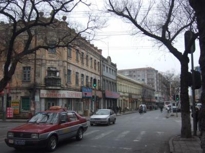 ハルビン 靖宇街