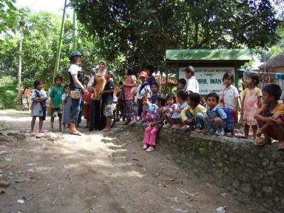 集落の学校  バリ島発 5泊6日
