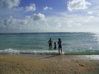 沖縄その3 美ら海水族館~海水浴三昧、そして、そば三昧!