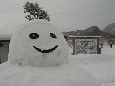 恒例の冬季東北巡業 2004年2月 (1)
