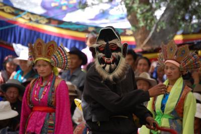 青蔵鉄道でゆくチベットの旅(6)~ショトン祭・アチェラモ~