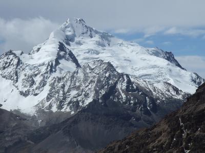 南米ボリビア国ラパス県アンデス山脈サイクリング(ラパス-コロイコ)
