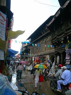 ネパールは今日も雨だった@カトマンズ