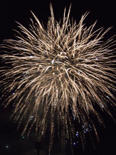 最後の。。。昭和新山火祭デシタ。