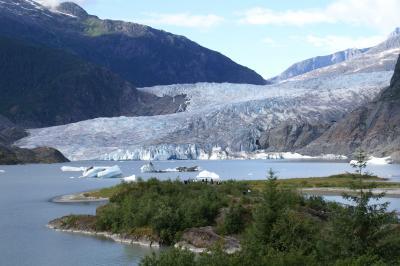 アラスカクルーズ? ジュノー・メンデンホール氷河