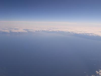 ヨーロッパ初出張、ANAビジネスとロシア上空