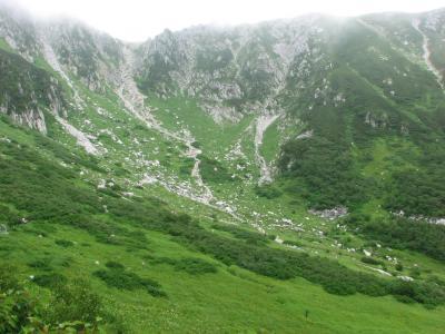 晩夏の千畳敷、上高地を散策す(1) 千畳敷カール ~2007年8月~