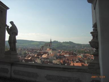 チェコ周遊 チェスキー・クルムロフで観る