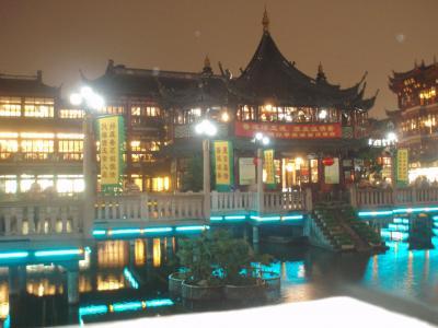 初めての上海