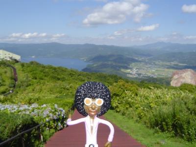 みすたぁの北海道旅行 WITH ママ 洞爺湖&有珠山編