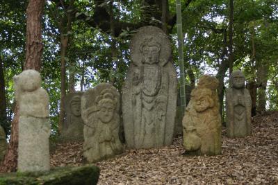 京都散歩:石峰寺の五百羅漢