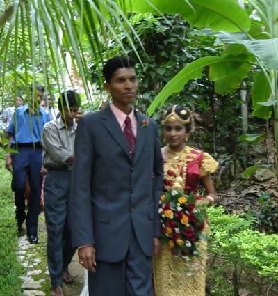 2003夏スリランカ 友人の結婚式に参列-2