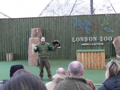 イギリス - ロンドン動物園(London Zoo)  ~冬のロンドン動物園は寂すぃ・・・~