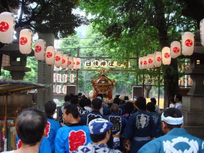 山王日枝神社祭り