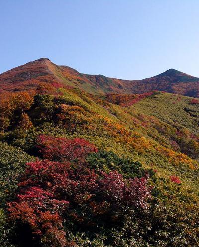 山登り記-2007-/紅葉のニセコで1日2山~(その1)ニセコアンヌプリ