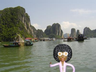 みすたぁのベトナム&カンボジア旅行 1日目 バッチャン散策&ハロン湾 編