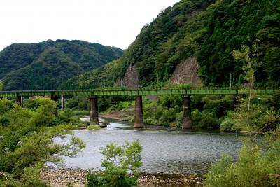 車中泊の旅:江の川溯上