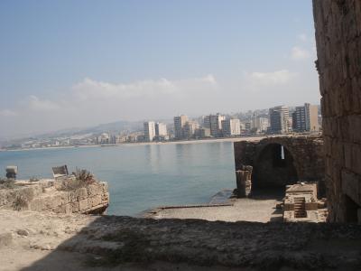 留学生の友人のいるとっても美しい南レバノン、サイダへ