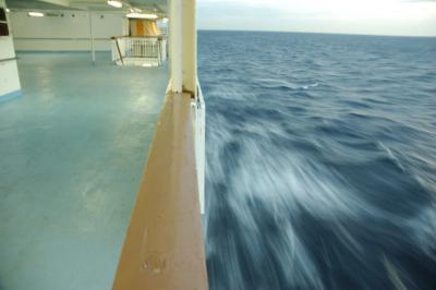 伊豆諸島新島船の旅