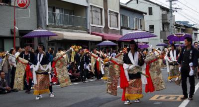 島田市の帯祭り