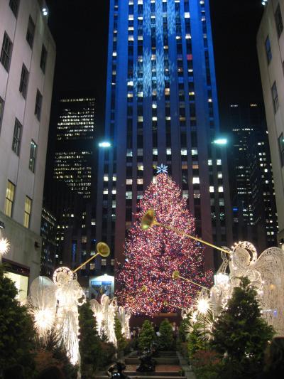 クリスマスシーズンのマンハッタン5番街 /ニューヨーク(1)