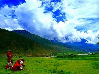 日本人が大好きなブータン@プナカ