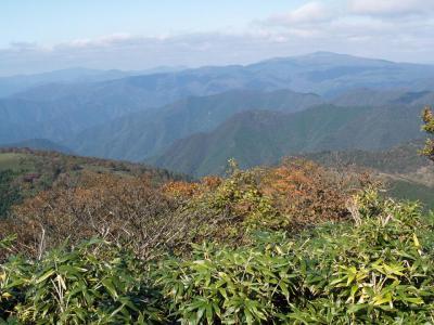 兵庫県第2の高峰、三室山へ