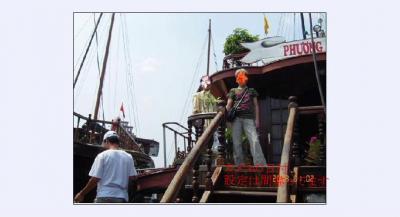 ベトナム初体験 ハロン湾豪華船?一泊クルーズ
