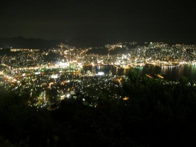 長崎の締めくくりは平和とイルミネーション