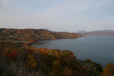 紅葉の登別・洞爺湖