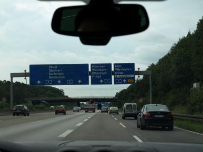 2007年・夏 スイスの旅(番外編1)~フランクフルトからヴュルツブルクへ