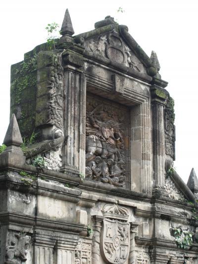2007秋、フィリピン旅行記1(10):10月31日(3)マニラ・サンチャゴ要塞