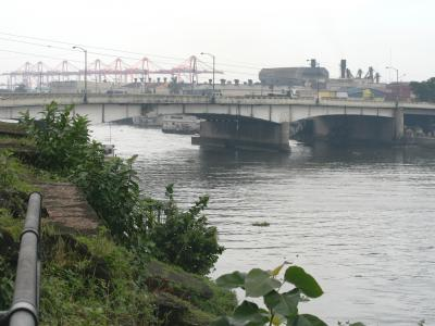 2007秋、フィリピン旅行記1(12):10月31日(5)マニラ・サンチャゴ要塞、刑場に向かうリサールの足跡