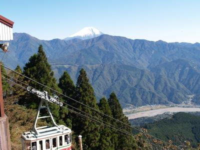 秋空散歩~富士山を見に行こう?身延山山頂~