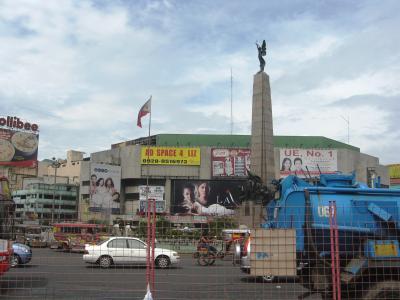 2007秋、フィリピン旅行記1(19):11月1日(3)マニラ・マニラ郊外、モニュメント駅、チャイナタウン