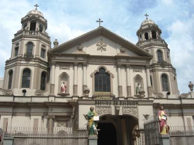 2007秋、フィリピン旅行記1(20):11月1日(4)マニラ・キアポ・マーケット、キアポ教会