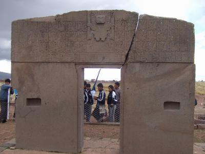 南米アンデス山脈ボリビア国ラパス県にあるティワナク遺跡-世界遺産  後半