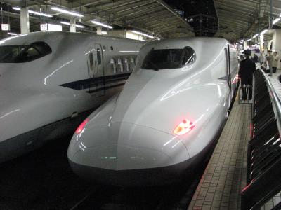 ふたたび、新幹線N700に乗車!