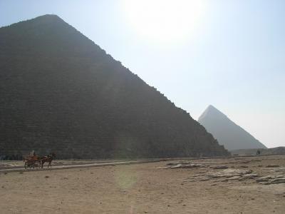 日韓共同エジプト旅行(7日目 一人でピラミッド見物)