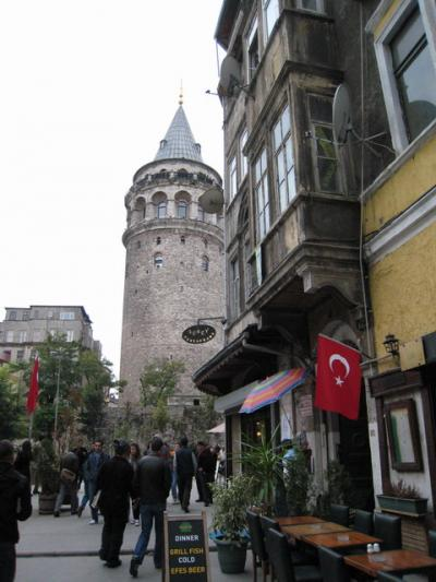 イスタンブールの日常(8)ガラタ塔地区