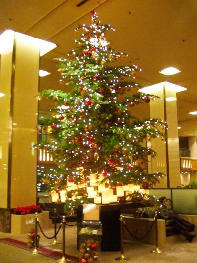 帝国ホテル東京 2007秋 メインダイニング「レ セゾン」&クリスマスツリー