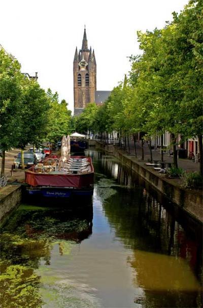 2007年ベネルックスの旅(2)デルフト、フェルメールの町