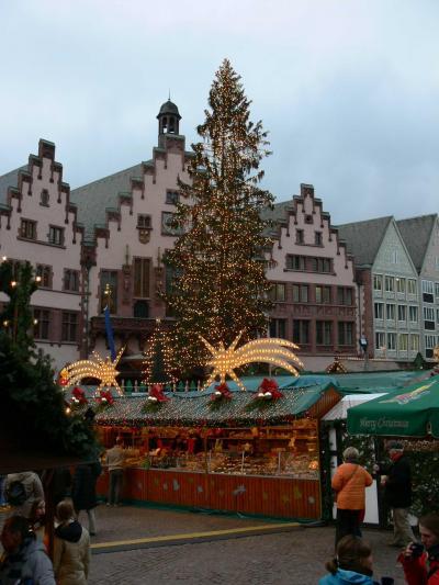 南ドイツ - クリスマスマーケットを巡る冒険 ~?フランクフルト~