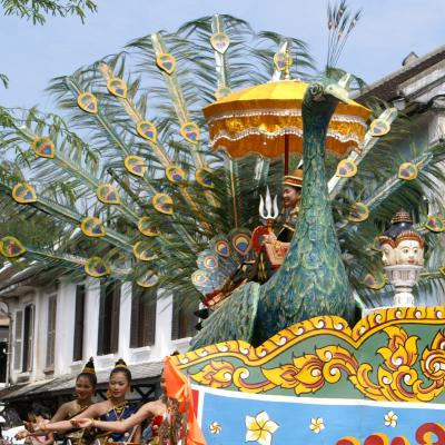 ルアンパバーンの年中行事2007 ラオス正月ピーマイラーオ