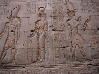 ふたりのエジプト8日間:ホルス神殿?