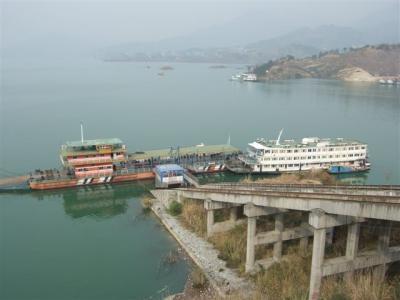 三峡ダム上流地区