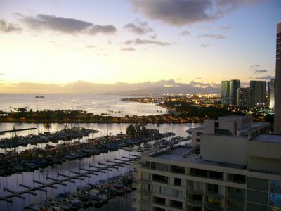 USCPA受験のため、独りハワイへ